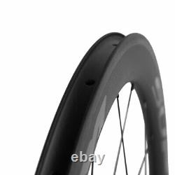 700C Front 50mm Rear 88mm Carbon Wheels Clincher Road Bike Cycle Carbon Wheelset