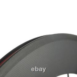 700C Front Carbon Wheel 88mm Road Bike Superteam R13Hub Bicycle Wheel Front Only