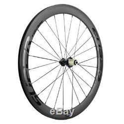 700C Full Carbon Wheels Superteam Carbon Wheelset 50mm Road Bike Wheels R13 Hub