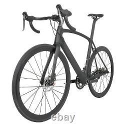 700C Road Bike 11s Disc brake Full Carbon AERO Frame Wheels Racing Bicycle 49cm