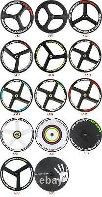 700C Road Bike Carbon Wheelset 88mm Depth 23mm Width Full Carbon Fiber Wheels