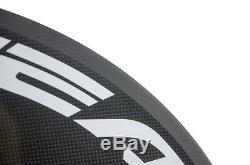 700C Superteam Carbon Disc Wheel Road Bike Disk Carbon Wheels Rear Bicycle Wheel