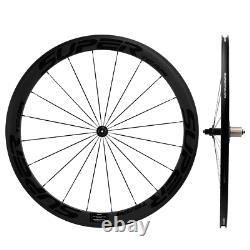 700C Superteam Carbon Wheels 50mm Road Bicycle Carbon Clincher Wheelset R13 Hub