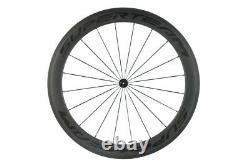 700C Superteam Front 60mm Rear 88mm Carbon Wheelset Road Bike Clincher Wheel R13