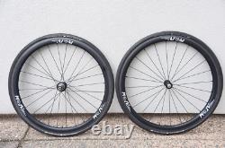 Atom Carbon Clincher CR-38mm Tubeless Road Bike Wheel Set 700c Sram Shimano Rim