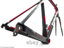 BMC teammachine SLR01 54cm carbon frame fork seat post BB86 road bike QR rim