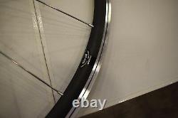 Bianchi 700C front road racing wheel carbon fusion hub 16h sealed alloy rim 813g