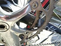 Bianchi carbon 2005 road bike w Ultegra (no wheels with damage)