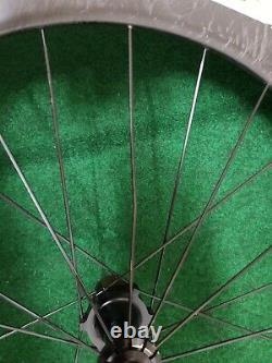 Blackwell 100 Carbon Tubular TT/Tri Road Bike Rear Wheel & Tire 700c 10s