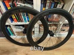 Bontrager Aeolus Comp 5 Tlr Carbon Disc Road Wheels Black/anthracite