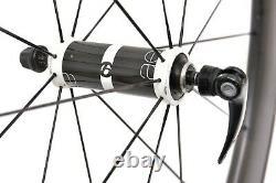 Bontrager Aeolus D3 5 Carbon Tubular Road Bike FRONT Wheel 700c QR Continental