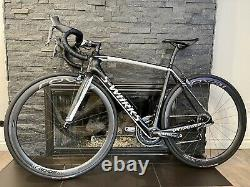 CLEAN! Specialized Tarmac Dura-Ace Road Bike With Roval CLX Carbon Wheels 54cm M