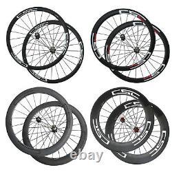 CSC Bike wheelset 38mm 50mm 60mm 88mm Clincher Tubular Carbon Road Bike Wheels