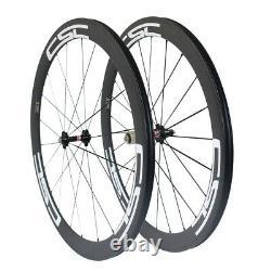 CSC T800 60mm Carbon Road Bike Wheels Bicycle Wheelset Novatec Hub Aero Spokes