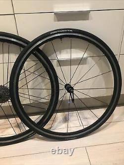 Campagnolo Zonda G3 aluminium wheels 700c 11 speed road race bike