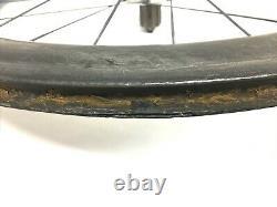 Cane Creek Aros 58 Road Bike Rare Carbon Tubular Wheel Titanium Spokes