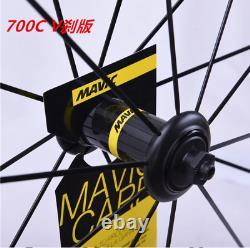 Carbon Road Wheels 50mm Clincher 700C 23MM Bike Rim Cosmic SLR Bicycle Wheel Set