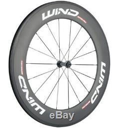 Carbon Wheels 38/50/60/88mm Road Bike Clincher 23mm Width Carbon Wheelset UD Mat