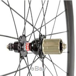 Carbon Wheels 700C Clincher Carbon Wheelset 50mm Carbon Road Wheel Race Bicycle
