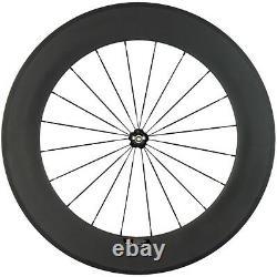 Carbon Wheels Road Bike 38/50/60/88mm Clincher Basalt Braking Surface Wheelset