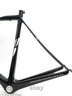 Cervelo RS 56cm carbon frameset English BB road cycling black rim QR