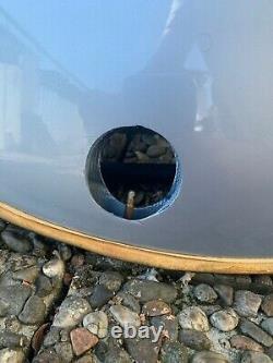 Cinelli Carbon Fiber road disc wheel Laser blue Vintage no track 700C 28