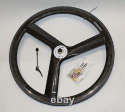 Corima Carbon 3 Spoke Front Road Wheel Tubular RRP £800 PLUS