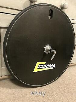 Corima Carbon Fibre Road/TT/Time Trial Disc Wheel Campgnolo 9/10/11 Speed 700c