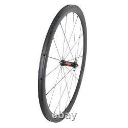 DT Swiss 240 Sapim Carbon Wheel 38mm Clincher Road Bike 700C UD Matt Rim 25mm