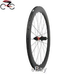 DT Swiss 240 Sapim Carbon Wheel 50mm Clincher Road Bike 700C QR Disc brake