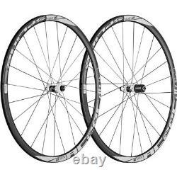 DT Swiss RC 28 SPLINE Carbon Road Wheelset 700c CenterLock Disc 11-speed Black