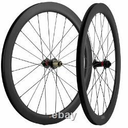 Disc Brake Carbon Wheels 50mm Road Bike 700C Clincher Disc Brake Cycle Wheelset