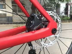 Disc Brake Complete Road Bike Carbon Bicycle frame wheel Shimano R8020group