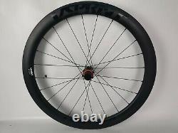 Disc Brake Wheels Carbon 50mm Tubeless Road Bike Disc Brake Wheelset Thru Axle