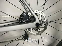 Disc Thru Axle Carbon Road Bike Complete Bicycle frame wheel Ultegra R8020