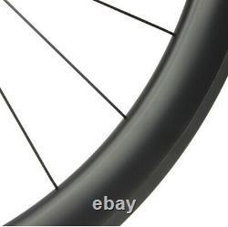 Dt Swiss Carbon Aero Wheelset 240 50mm Road Bike Clincher Tubular Tubeless Wheel