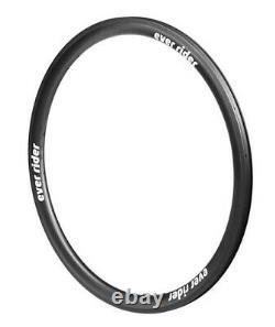 EVER RIDER 700C 38mm Clincher Carbon Fiber Rim/Wheel Road Bike/Cycling RU53801