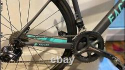 Factor o2 size 49 carbon road bike, Ultegra Di2, Fulcrum EC3 Carbon wheels