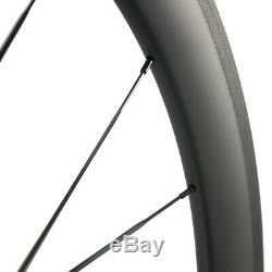 Factory Sales 38/50/60/88mm Carbon Wheels Road Bike Carbon Wheelset Basalt Brake