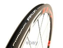 Fast Forward F4R FCC Carbon Clincher Road Bike FRONT Wheel QR DT Swiss Track Tri