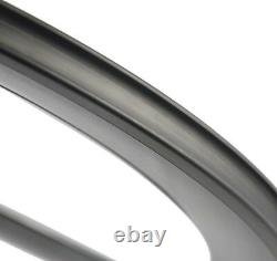 Front Tri Spoke Rear Disc Carbon Wheels Road/Track Bike Wheelset 700C Bicycle