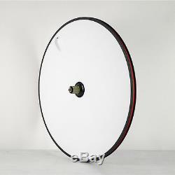 Full Carbon Disc Wheel Rear Clincher Dics Road Bike Triathlon 700C Shimano 811