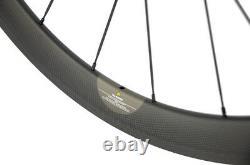 Full Carbon Fiber Wheelset 700C Road Bike 50mm Depth Clincher Wheels Bitex R13