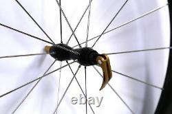 HED CX Clincher Road Bike Front Wheel Carbon 700c QR