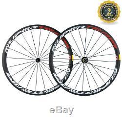 Handbuild T700 38mm Bicycle Wheels Clincher Road Bike Carbon Wheelset