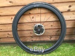 Hunt 50/40 Carbon Road Disc Wheels Wheelset 700C Shimano/SRAM