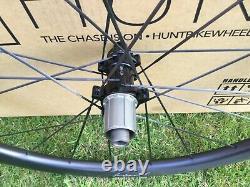 Hunt UD44 Carbon spoke Road Disc Wheels Wheelset 700c Shimano/SRAM