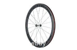 Lightweight 50mm Bicycle Wheels DT 350 Hub customized Road Bike Carbon Wheelset
