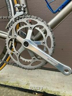 Litespeed Classic Titanium Ti Road Bike Dura Ace 7400 Real Design Carbon Wheels