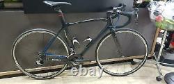 Look 695 Aerolight Carbon Race Road Bike Dura Ace Di2 DA Wheel Set C24 Size 51